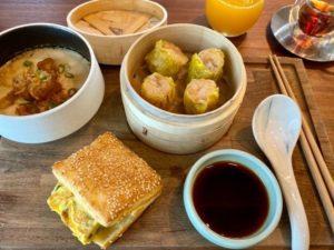 台湾の朝ご飯