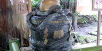 手水 白蛇